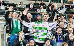 Stockholm 2015-03-14 Bandy SM-final herrar Sandvikens AIK - V&auml;ster&aring;s SK :  <br /> V&auml;ster&aring;s supportrar under matchen mellan Sandvikens AIK och V&auml;ster&aring;s SK <br /> (Foto: Kenta J&ouml;nsson) Nyckelord:  SM SM-final final Bandyfinal Bandyfinalen herr herrar VSK V&auml;ster&aring;s SAIK Sandviken supporter fans publik supporters