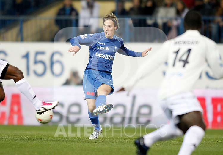 Real Madrid's Sergio Canales during UNICEF match. December, 29 2010. (ALTERPHOTOS/Alvaro Hernandez)
