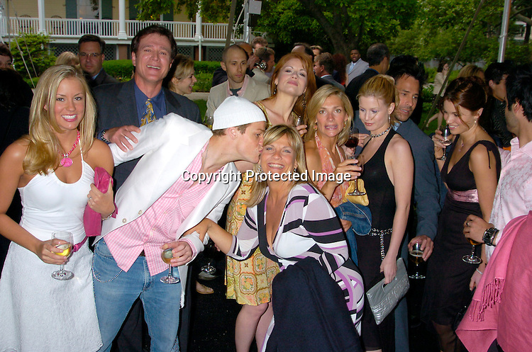 Guiding Light Group Shot ..at the Pre Daytime Emmy party at Gracie Mansion on..May 20, 2004