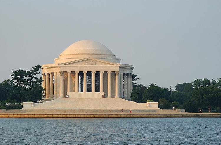 Jefferson Memorial at Sunrise, Potomac Tidal Basin, Washington DC