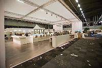 09-02-13, Tennis, Rotterdam, qualification ABNAMROWTT, building VIP village