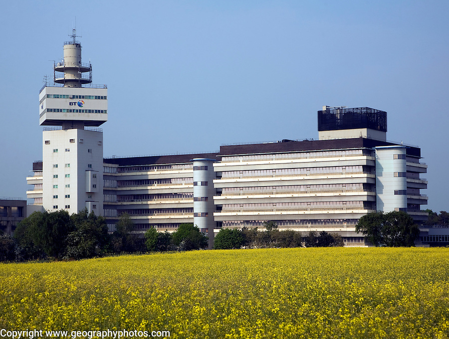 BT Adastral Park research and development headquarters, Martlesham, near Ipswich, Suffolk, England