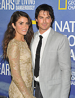 New York, NY- September 21: Nikki Reed, Ian Somerhalder attends National Geographic's 'Years Of Living Dangerously' new season world premiere at the American Museum of Natural History on September 21, 2016 in New York City.@John Palmer / Media Punch