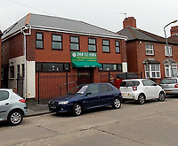 2019 11 03 The Dar Ul-Isra mosque in Cardiff, Wales, UK.