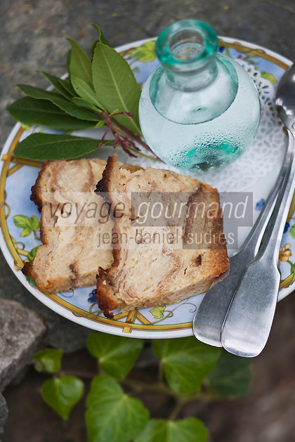 Europe/France/Corse/2B/Haute-Corse/Cap Corse/Nebbio/Murato: Beignets souflés au citron et clémentine corse confite, recette Pauline Julliard de la Ferme Auberge Campu di Monte