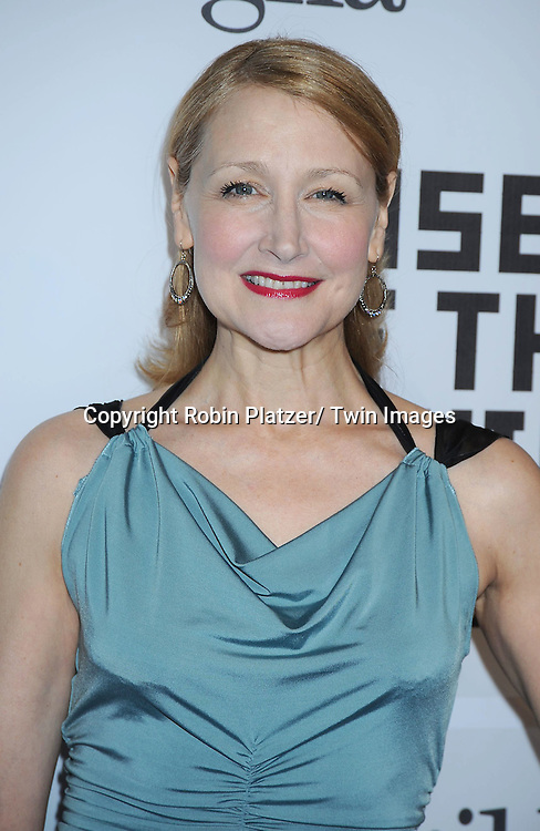 Patricia Clarkson attending The Museum of the Moving Image Salute to Alec Baldwin on .February 28, 2011 at Cipriani 42nd Street in New York City.