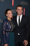 Josie Rourke and Liev Schreiber  attends the Broadway Opening Night Performance After Party for 'Les Liaisons Dangereuses'  at Gotham Hall on October 30, 2016 in New York City.