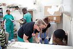 at the Hospital Albert Schweitzer on Friday, October 29, 2010 in Deschapelles, Haiti.