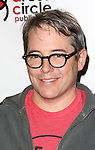 Matthew Broderick attends the Seth Rudetsky Book Launch Party for 'Seth's Broadway Diary' at Don't Tell Mama Cabaret on October 22, 2014 in New York City.