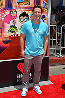 Scott Porter at the premiere for &quot;Teen Titans Go! to the Movies&quot; at the TCL Chinese Theatre, Los Angeles, USA 22 July 2018<br /> Picture: Paul Smith/Featureflash/SilverHub 0208 004 5359 sales@silverhubmedia.com