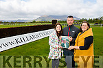 Launch the Jeremy O'Neill Memorial Mares Hurdle in aid of  the Cancer Clinical Research Trust on Sunday 10th may at the Killarney Race Course. Pictured family Sinead Driver, Denis O'Neill and Sarah Jane O'Neill