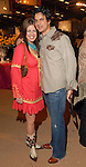 Tricia Skuca and Brad Morello at the Cattle Baron's Ball at the George Ranch Saturday April 28,2007.(Dave Rossman/For the Chronicle)