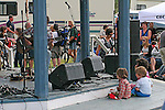 Music Festival at Dawson City, Yukon, Canada