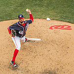 29 May 2016: Washington Nationals pitcher Oliver Perez on the mound against the St. Louis Cardinals at Nationals Park in Washington, DC. The Nationals defeated the Cardinals 10-2 to split their 4-game series. Mandatory Credit: Ed Wolfstein Photo *** RAW (NEF) Image File Available ***