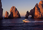 El Arco at sunrise near Cabo San Lucas