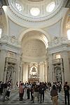 La Reggia di Venaria Reale. La chiesa di S.Uberto 2007..Venaria Reale, residence of the Royal House of Savoy. The S. Uberto church..Ph. Marco Saroldi/Pho-to.it