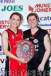 St Marys Labhaoise Walmsley who beat her mother Joanne in the Div 2 Ladies final at the St Marys Basketball Blitz on Saturday