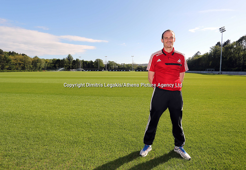 Pictured: Dave Adams, head of academy coaching. Wednesday 14 May 2014<br />