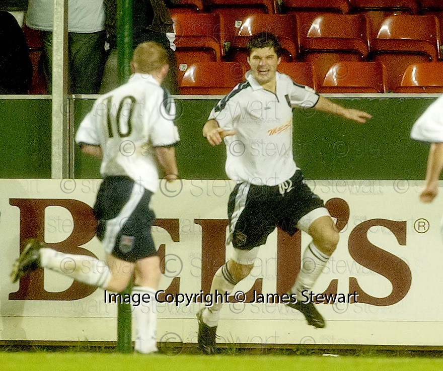 28/11/2004  Copyright Pic : James Stewart.File Name : jspa02_falkirk_v_ross_county.STUART MALCOLM CELEBRATES SCORING COUNTY'S SECOND.......Payments to :.James Stewart Photo Agency 19 Carronlea Drive, Falkirk. FK2 8DN      Vat Reg No. 607 6932 25.Office     : +44 (0)1324 570906     .Mobile   : +44 (0)7721 416997.Fax         : +44 (0)1324 570906.E-mail  :  jim@jspa.co.uk.If you require further information then contact Jim Stewart on any of the numbers above.........