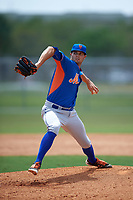 New York Mets Ben Griset (21) during a minor league Spring Training game against the St. Louis Cardinals on March 31, 2016 at Roger Dean Sports Complex in Jupiter, Florida.  (Mike Janes/Four Seam Images)