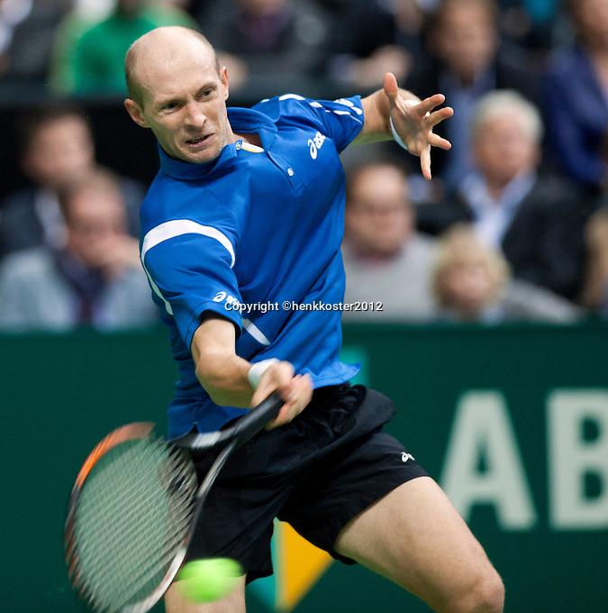 18-02-12, Netherlands,Tennis, Rotterdam, ABNAMRO WTT, Nicolay Davydenko