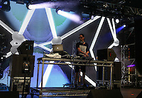 Robin Schulz performs during The New Look Wireless Music Festival at Finsbury Park, London, England on Sunday 05 July 2015. Photo by Andy Rowland.