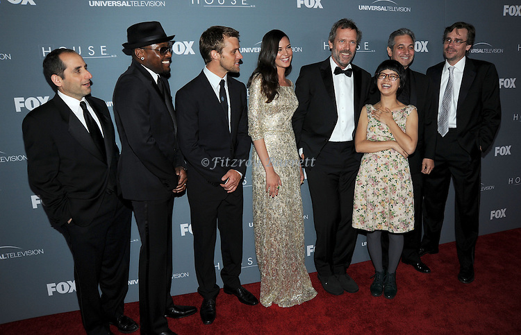 Omar Epps, Odette Annable, Hugh Laurie, Charlyne Yi and Robert Sean Leonard attending the House Series  Finale Wrap Party, held at Cicada's in Los Angeles, CA. April 20, 2012