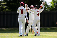 Barking claim their fourth wicket during Barking CC (Fielding) vs Redbridge CC, Essex County League Cricket at Mayesbrook Park on 25th May 2019