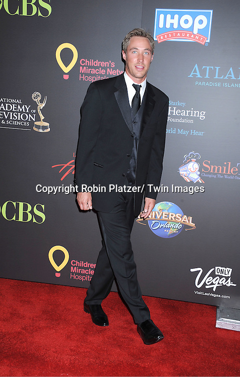 Kyle Lowder arriving at the 38th Annual Daytime Emmy Awards  on June 19, 2011 at The Las Vegas Hilton in Las Vegas Nevada. ..