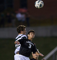 The number 5 ranked Charlotte 49ers play the University of South Carolina Gamecocks at Transamerica field in Charlotte.  Charlotte won 3-2 in the second overtime.  Ryan Arambula (3), Thomas Allen (5)
