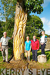Tarbert Forde Park Reopening: Pictured to announce the opening of Forde Park , Tarbert are Michael & Patricia Lanigan, John Fox & Joan Murphy, Chairperson Tarbert Development Association.