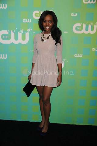 Aja Naomi King at The CW Network's 2012 Upfront at New York City Center on May 17, 2012 in New York City. . Credit: Dennis Van Tine/MediaPunch