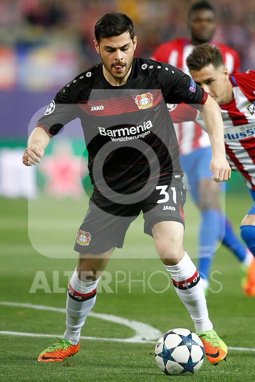 Bayer 04 Leverkusen's Kevin Volland during Champions League 2016/2017 Round of 16 2nd leg match. March 15,2017. (ALTERPHOTOS/Acero)