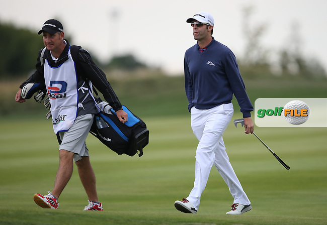 Bradley Dredge (WAL) brings his form in Denmark forward and mounts a 66 during Round Three of the D&D Real Czech Masters 2014 from the Albatross Golf Resort, Vysoky Ujezd, Prague. Picture:  David Lloyd / www.golffile.ie