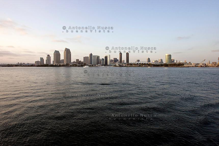 San Diego, California Usa, June 10, 2007. Skyline of San Diego.