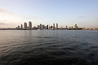 San Diego, California Usa, June 10, 2007. Skyline of San Diego.
