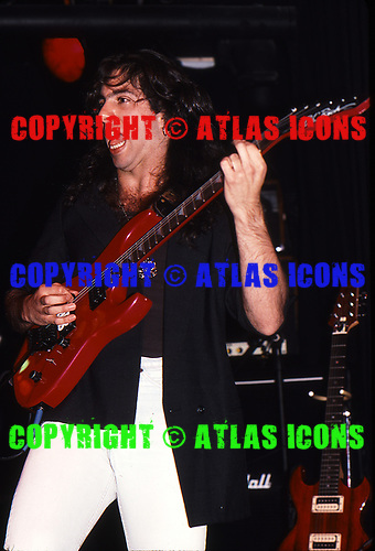 Dream Theater; 1988; Perform at U.S. Blues / MCA Industry Showcase;<br /> Photo Credit: Eddie Malluk/Atlasicons.com