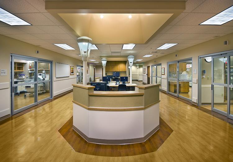 Sutter Rose Medical Center NICU - Roseville, Ca.HGA Architects.