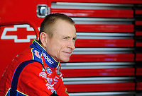 Apr 17, 2009; Avondale, AZ, USA; NASCAR Sprint Cup Series driver Mark Martin during practice for the Subway Fresh Fit 500 at Phoenix International Raceway. Mandatory Credit: Mark J. Rebilas-