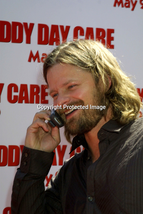 ©2003 KATHY HUTCHINS / HUTCHINS PHOTO.DADDY DAY CARE PREMIERE.WESTWOOD, CA.MAY 4, 2003..STEVE ZAHN