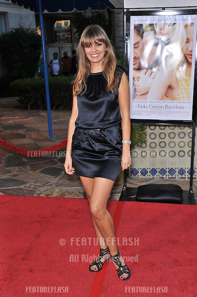 "India Dupré at the Los Angeles premiere of ""Vicky Cristina Barcelona"" at the Mann Village Theatre, Westwood..August 4, 2008  Los Angeles, CA.Picture: Paul Smith / Featureflash"