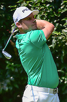 Tyrell Hatton (ENG) watches his tee shot on 2 during round 1 of the World Golf Championships, Mexico, Club De Golf Chapultepec, Mexico City, Mexico. 3/2/2017.<br /> Picture: Golffile | Ken Murray<br /> <br /> <br /> All photo usage must carry mandatory copyright credit (&copy; Golffile | Ken Murray)