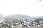 1309-22 1612<br /> <br /> 1309-22 BYU Campus Aerials<br /> <br /> Brigham Young University Campus, Provo, Sunrise, Y Mountain<br /> <br /> September 6, 2013<br /> <br /> Photo by Jaren Wilkey/BYU<br /> <br /> © BYU PHOTO 2013<br /> All Rights Reserved<br /> photo@byu.edu  (801)422-7322
