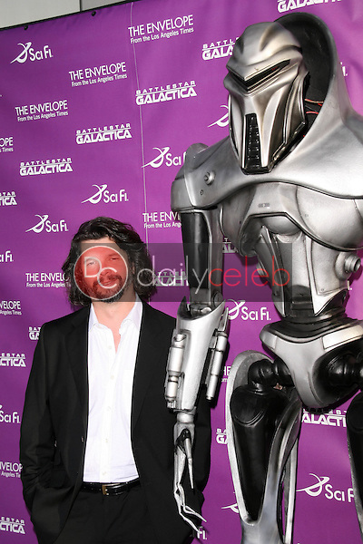 """Ronald D. Moore<br />at the Exclusive Celebration of """"Battlestar Galactica"""". Cinerama Dome, Hollywood, CA. 06-11-08<br />Dave Edwards/DailyCeleb.com 818-249-4998"""