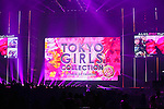 2015 S/S, Feb 28, 2015 : February 28, 2015 : Fashion Runway Show of TOKYO GIRLS COLLECTION by girlswalker.com 2015 SPRING/SUMMER at Yoyogi Gymnasium in Shibuya, Japan.