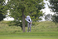 Jens Dantorp (SWE) in the rough on the 2nd fairway during Round 4 of the D+D Real Czech Masters at the Albatross Golf Resort, Prague, Czech Rep. 03/09/2017<br /> Picture: Golffile | Thos Caffrey<br /> <br /> <br /> All photo usage must carry mandatory copyright credit     (&copy; Golffile | Thos Caffrey)