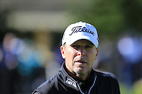 Steve Stricker (USA) on the 1st tee at Pebble Beach Golf Links during Saturday's Round 3 of the 2017 AT&amp;T Pebble Beach Pro-Am held over 3 courses, Pebble Beach, Spyglass Hill and Monterey Penninsula Country Club, Monterey, California, USA. 11th February 2017.<br /> Picture: Eoin Clarke | Golffile<br /> <br /> <br /> All photos usage must carry mandatory copyright credit (&copy; Golffile | Eoin Clarke)