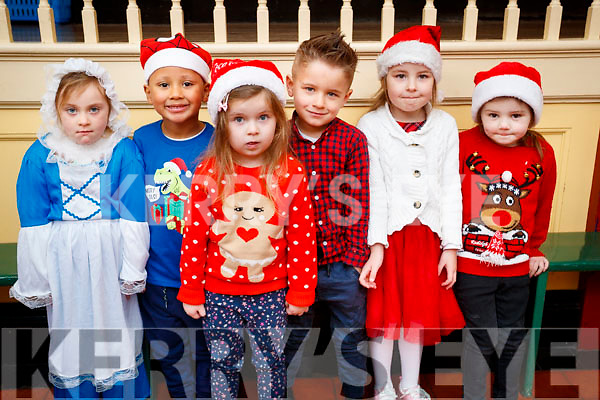 Bree Rogers, Tristan O Sullivan, Anna Ziembicka, Amar Oruqi, Laura Zielwski, Crystal Kate Doherty at the Presentation primary School play on Wednesday 13th December.
