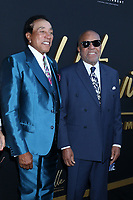 """LOS ANGELES - AUG 8:  Smokey Robinson, Berry Gordy at the """"Hitsville: The Making Of Motown"""" Premiere at the Harmony Gold Theater on August 8, 2019 in Los Angeles, CA"""