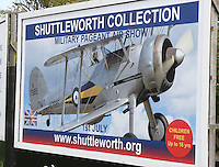 Old Warden, Bedfordshire - A pilot died as his vintage aircraft crashed during a display at a Bedfordshire air show. Today's show was immediately cancelled with up to 1000 people expected to attend. Shuttleworth Collection, Old Warden airfield, nr Biggleswade, Bedfordshire, England - July 1st 2012..The victim was named as former RAF Pilot Trevor Roche who was flying a rare de Havilland DH53 which came down in a field 300 metres from the airfield..Photo by Keith Mayhew